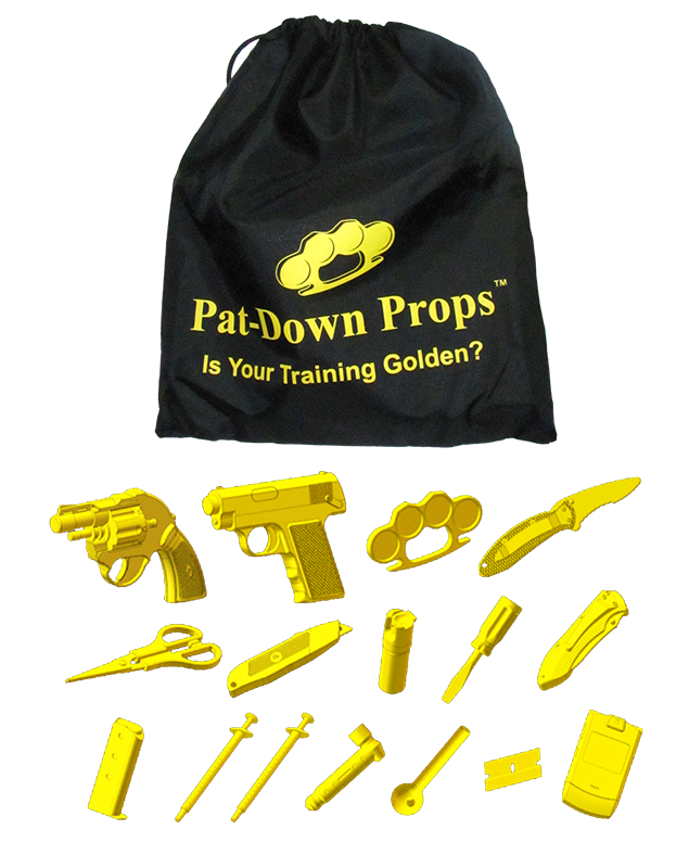 Pat-Down Props Single Pack Photo