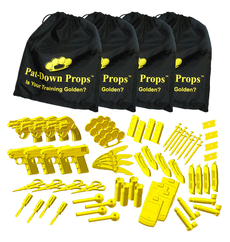 Pat-Down Props Academy Pack Photo